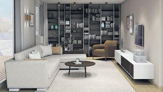 Perfekte Wohnraumplanung