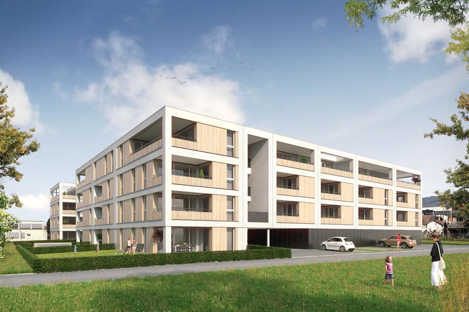 Traumhafte Dachgeschosswohnung in Bregenz, Top W44