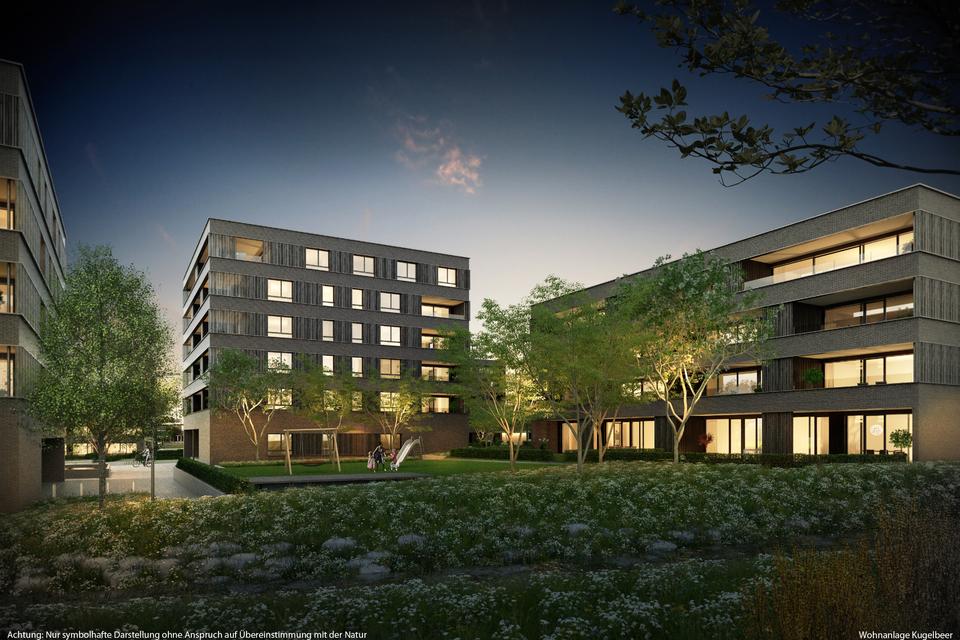 großzügige 3-Zimmer-Wohnung I Haus E Top 10