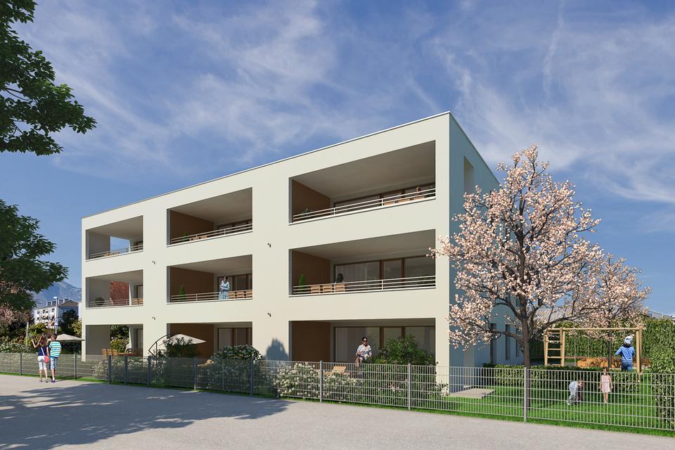 Helle 3-Zimmer-Dachgeschosswohnung mit großer Terrasse I Top 07