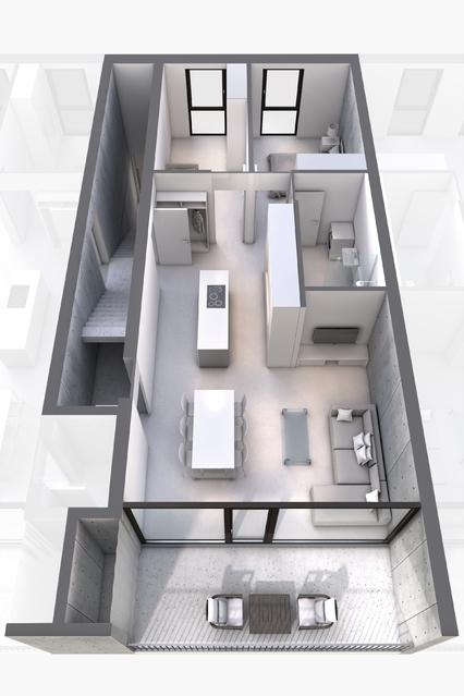 1 Wohnung, 3 Möglichkeiten: zB 3-Zimmer