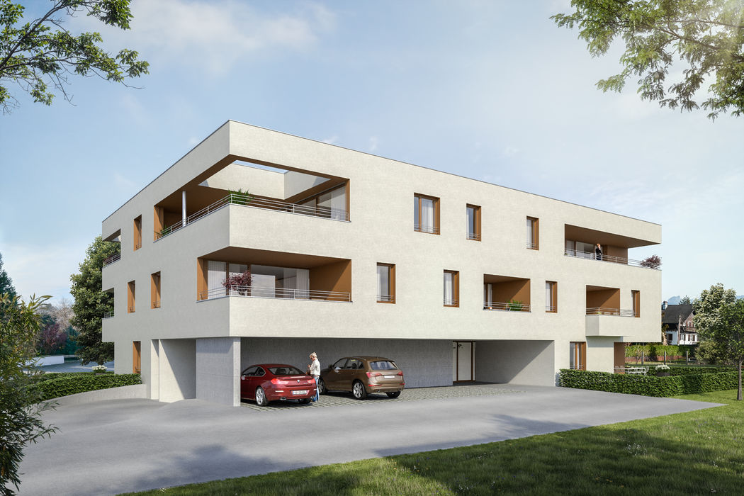 Dachgeschosswohnung in Dornbirn, Top W12