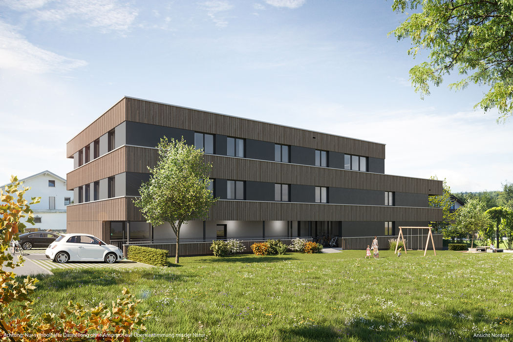 Neubau: 3-Zimmer-Garten-Wohnung I Top 04