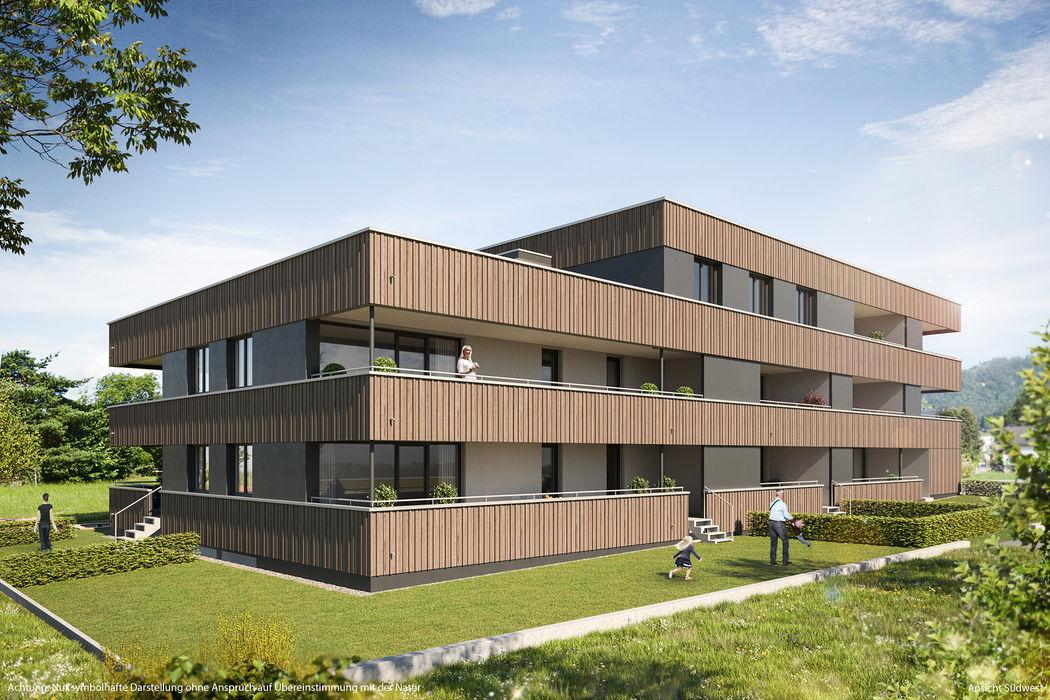 Attraktive 3-Zimmer-Wohnung mit großem Garten I Top 03