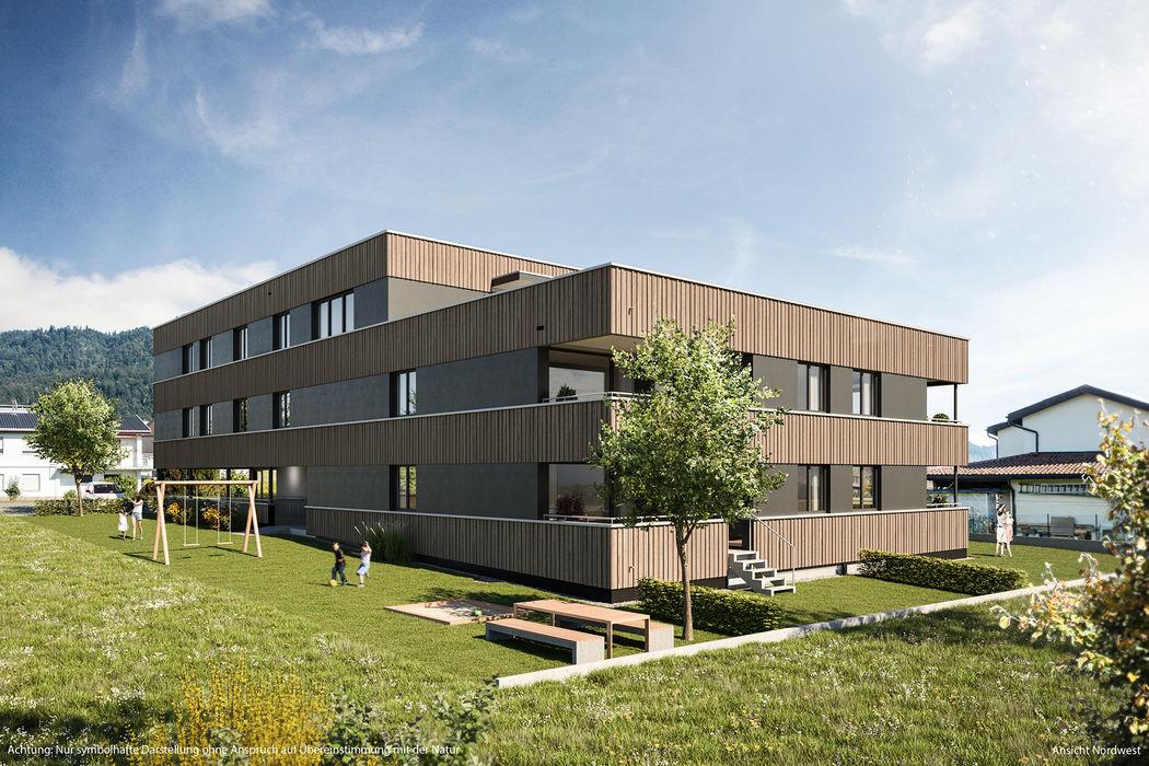 Großzügige 4-Zimmer-Dachgeschoss-Wohnung mit Terrasse I Top 10