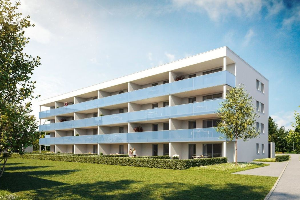 Praktisch eingeteilte 3-Zimmer-Terrassen-Wohnung I Top 18
