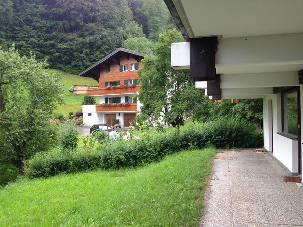 Terrasse, Garten rechte Seite