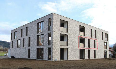Lauterach: schöne 3-Zimmer-Terrassenwohnung in ruhiger Wohngegend