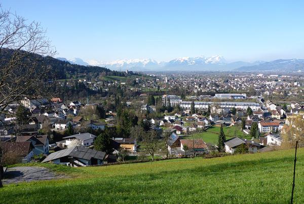 Traumhaftes Grundstück in schönster Aussichtslage von Kennelbach!