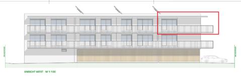 DORNBIRN/NEUBAU: schöne 3-Zimmer-Wohnung mit großer Terrasse