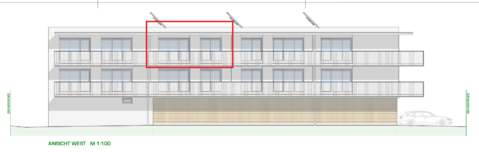 DORNBIRN/NEUBAU: großzügige 2-Zimmer-Dachgeschosswohnung