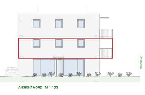 DORNBIRN/NEUBAU: helle 3-Zimmer-Terrassenwohnung mit großzügiger Terrasse