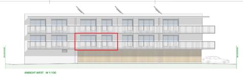 DORNBIRN/NEUBAU: großzügige 2-Zimmer-Terrassenwohnung