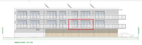 DORNBIRN/NEUBAU: schöne 2-Zimmer-Terrassenwohnung