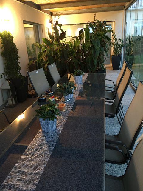 Terrasse verglast