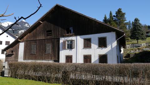 Altes Bauernhaus in Ludesch