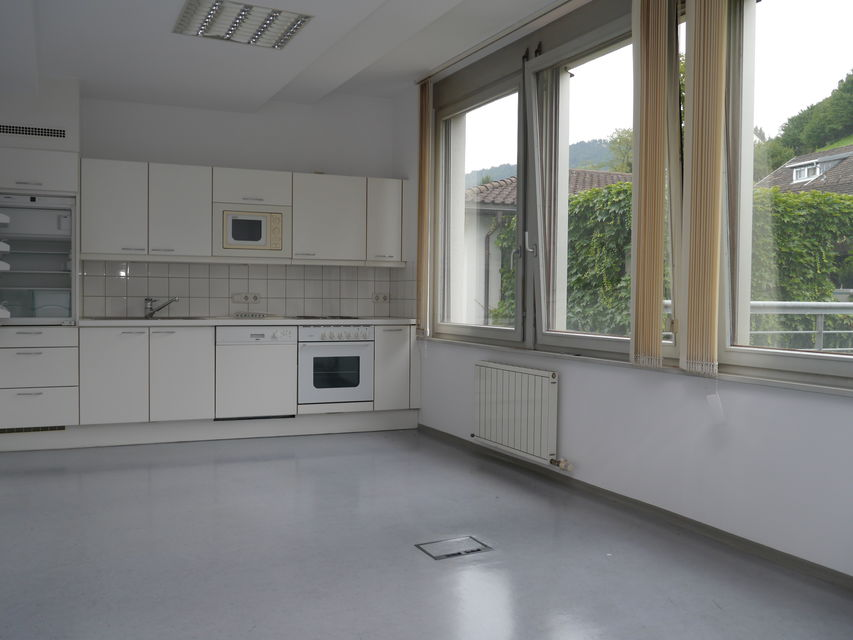 Küche und Sozialraum im OG
