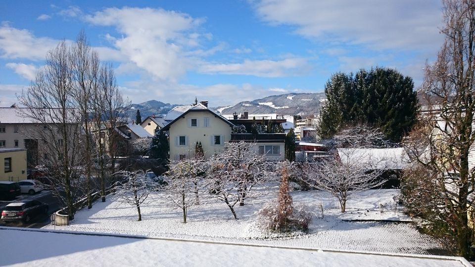 Ausblick Winter Zimmerseite