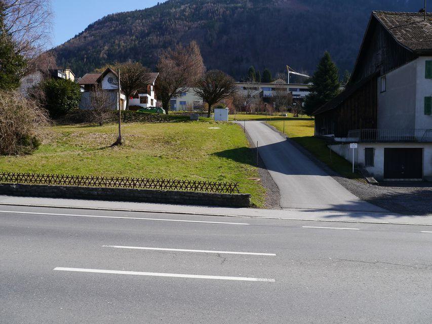 Zufahrt ab Liechtensteinerstr