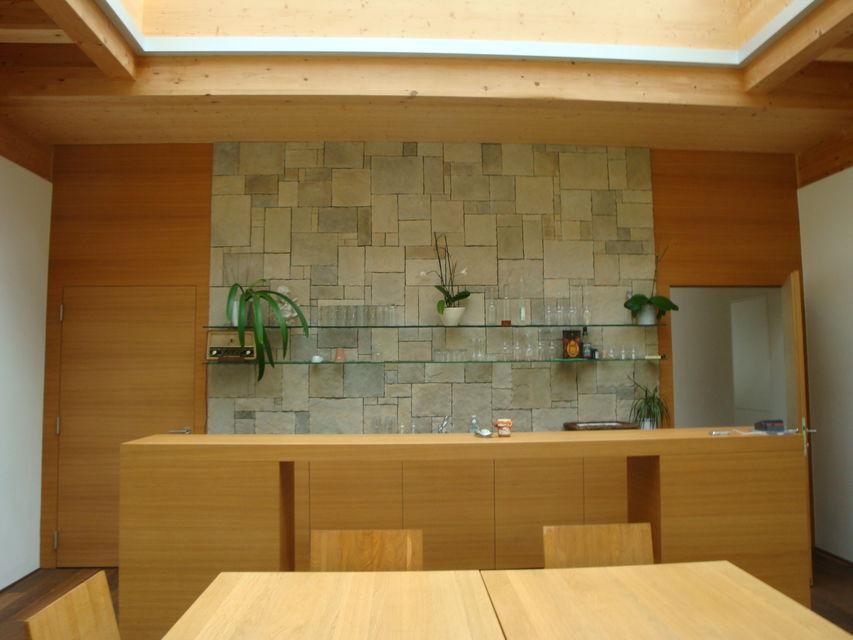 Gartenraum mit Küchenzeile
