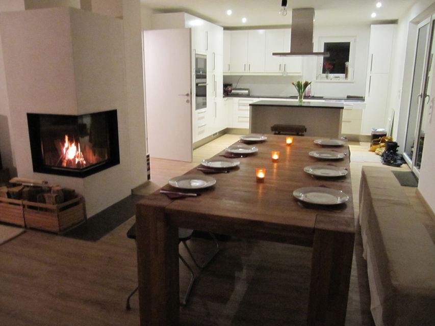 EG Wohnbereich und Küche