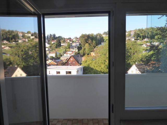 Aussicht vom zweiten Balkon