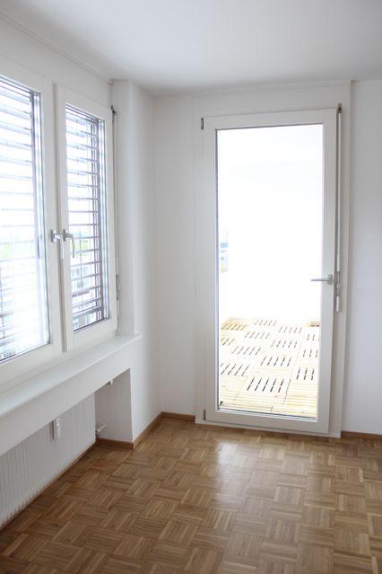 Wohnzimmer Ausgang Loggia