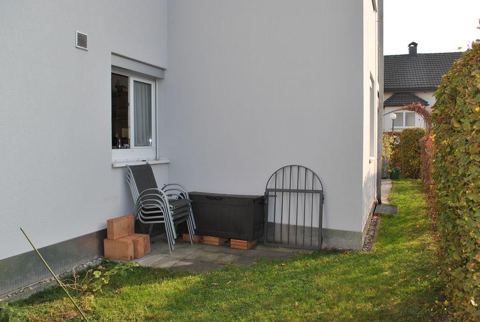 Garten Hinten/Seite