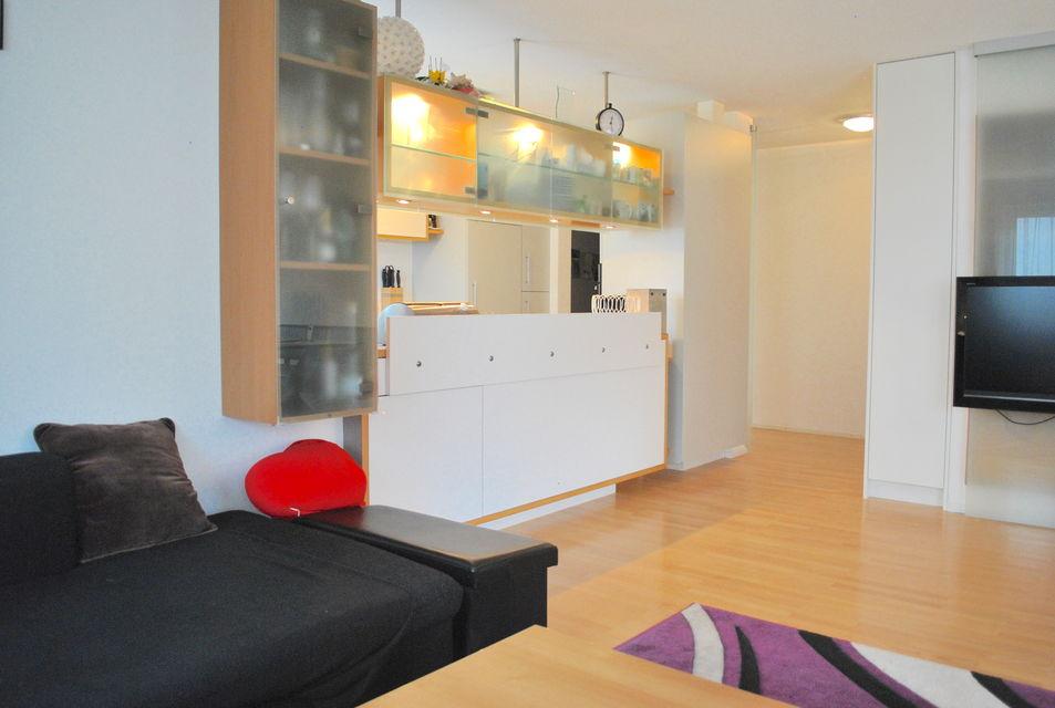 Wohnbereich/Sicht auf Küche