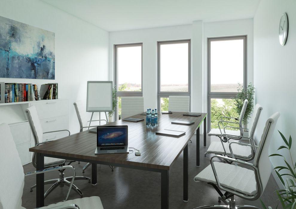 Büro mit Gewölbedecke, Natürliches Licht