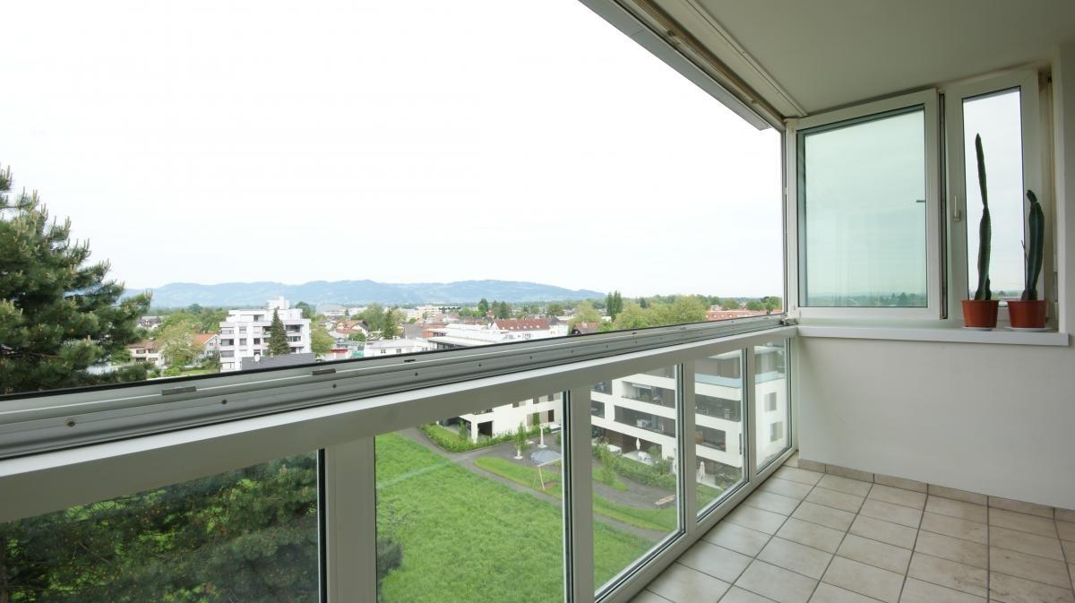 Balkon verglast