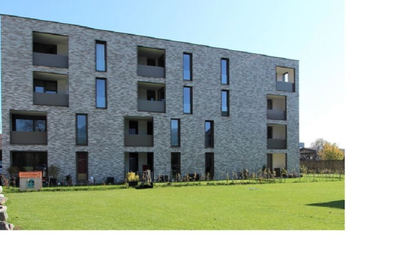 Außengebäude mit Rasen