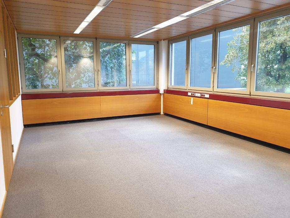 Leeres Zimmer mit Natürliches Licht, Teppich