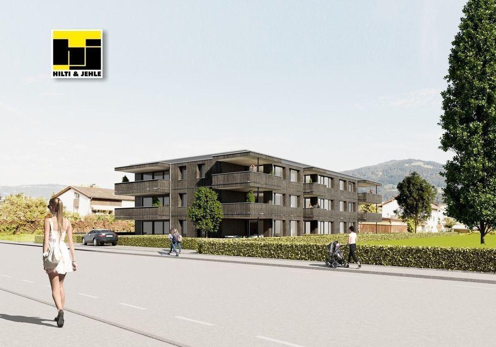 Außengebäude mit Bergblick