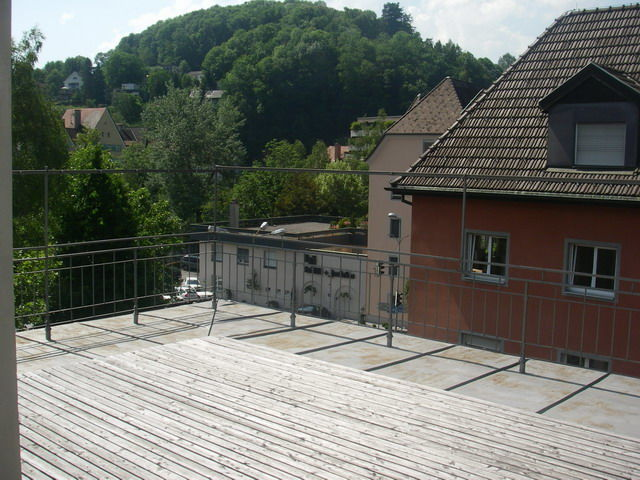 Terrasse mit Veranda