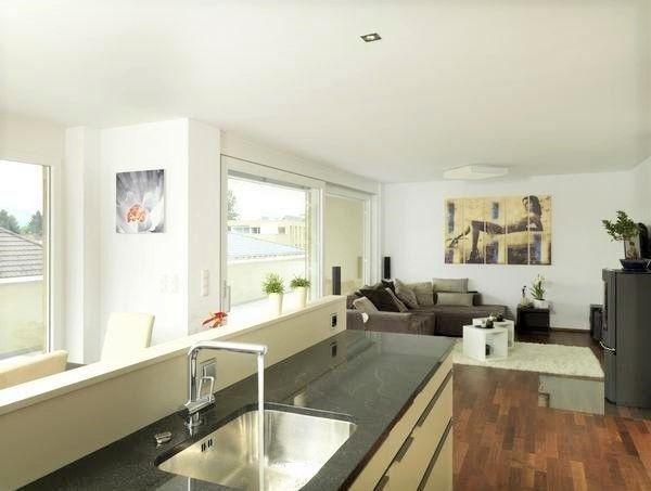 Küche mit Hartholzboden, Natürliches Licht