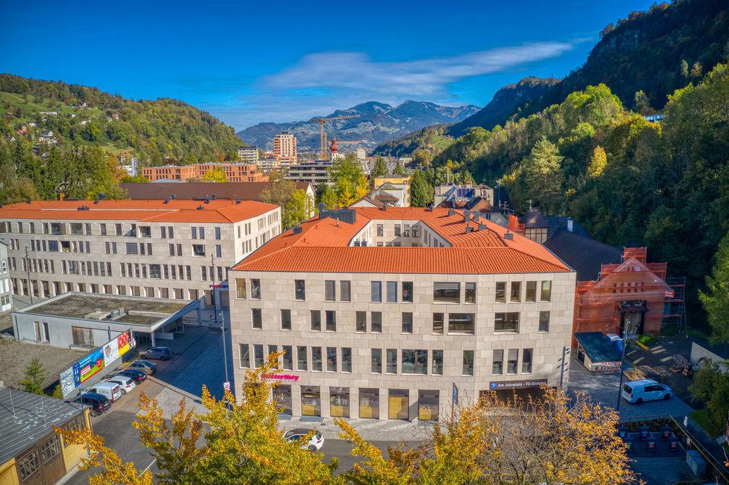 Foto Luftaufnahme Am Jahnplatz