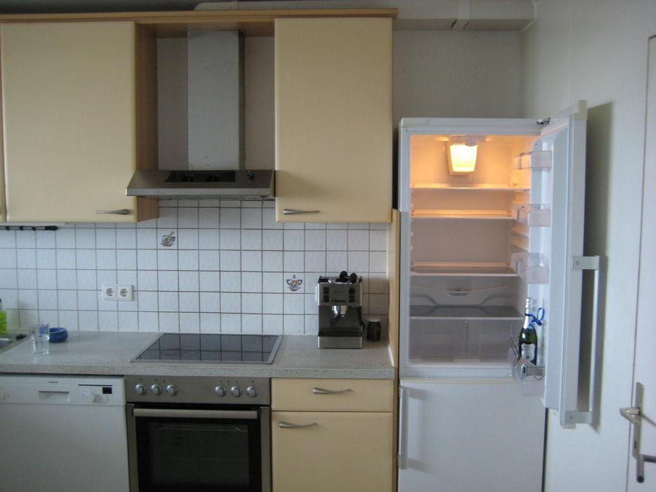 Küche mit Edelstahl