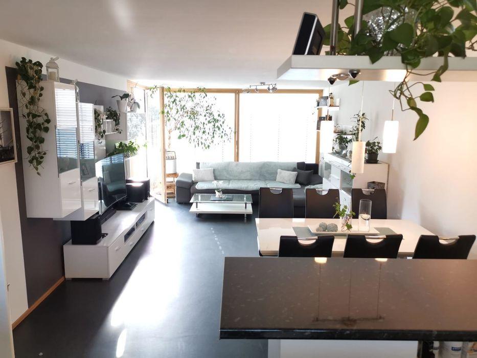 Wohnzimmer mit Natürliches Licht