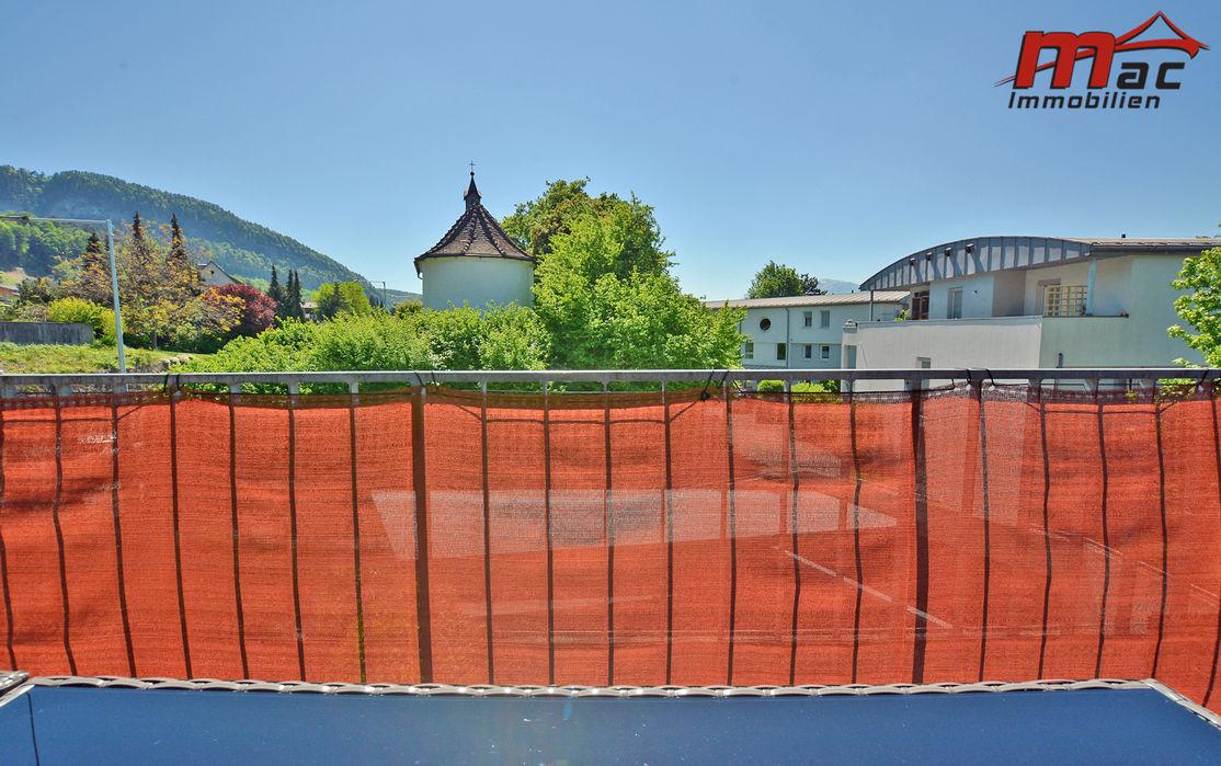 Terrasse mit Bergblick