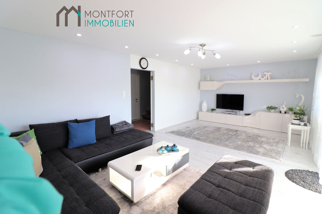 Wohnzimmer mit Teppich