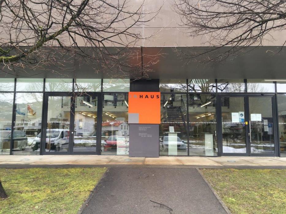 Rhomberg's Fabrik Aussenansicht Eingang 2